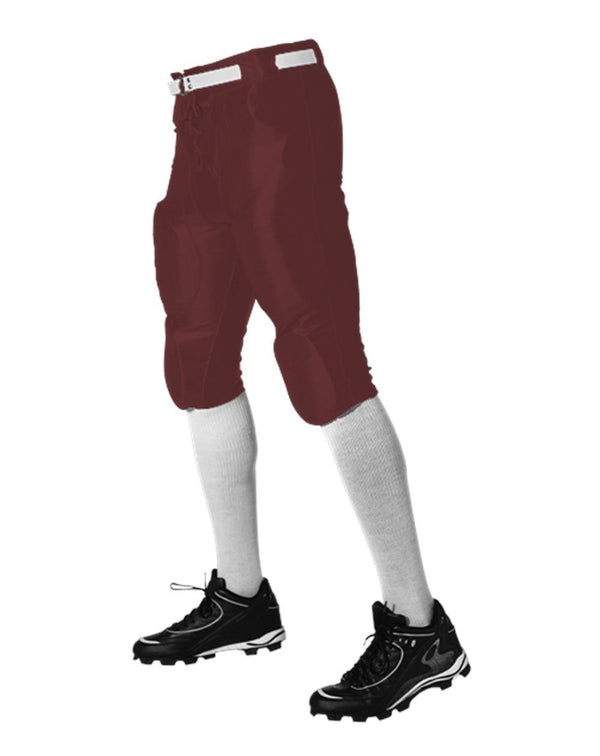 Youth Slotted Football Pants-Alleson Athletic-Pacific Brandwear