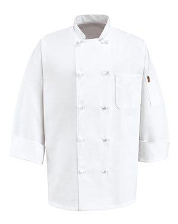 Executive Chef Coat Long Sizes-Chef Designs-Pacific Brandwear