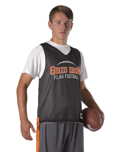 Youth Swift Mesh Reversible Flag Football Jersey-Alleson Athletic-Pacific Brandwear