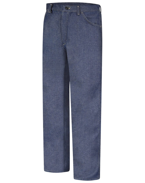 Flame Resistant Jean-Style Pants - Extended Sizes-Bulwark-Pacific Brandwear