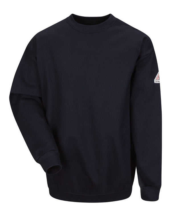 Pullover Crewneck SweatShirt - Cotton/Spandex Blend - Long Sizes-Bulwark-Pacific Brandwear