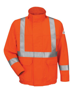 Bulwark Lined Bomber Jacket with CSA Compliant Reflective Trim - EXCEL FR® ComforTouch-Bulwark-Pacific Brandwear