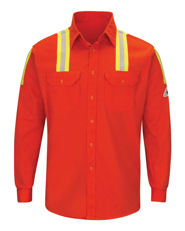 Enhanced Visibility Long sleeve Uniform Shirt-Bulwark-Pacific Brandwear