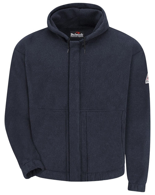 Flame Resistant Fleece Full-Zip - Long Sizes-Bulwark-Pacific Brandwear