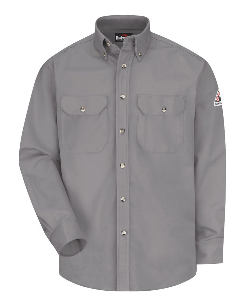 Dress Uniform Shirt - Excel FR ComforTouch - 7 oz. - Long Sizes-Bulwark-Pacific Brandwear