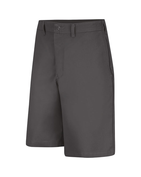Plain Front Side Elastic Shorts-Red Kap-Pacific Brandwear
