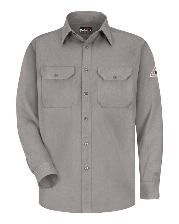 Dress Uniform Shirt - Long Sizes-Bulwark-Pacific Brandwear