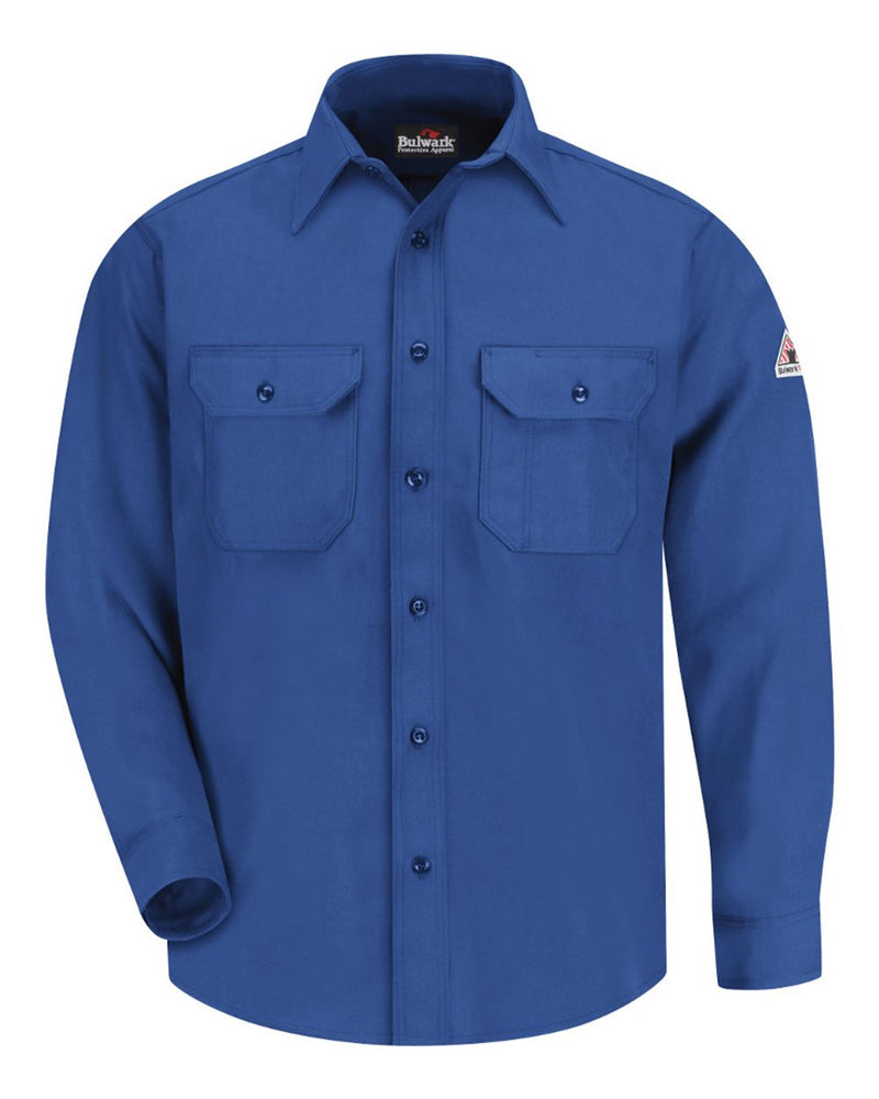 Uniform Shirt - Nomex IIIA - Long Sizes-Bulwark-Pacific Brandwear