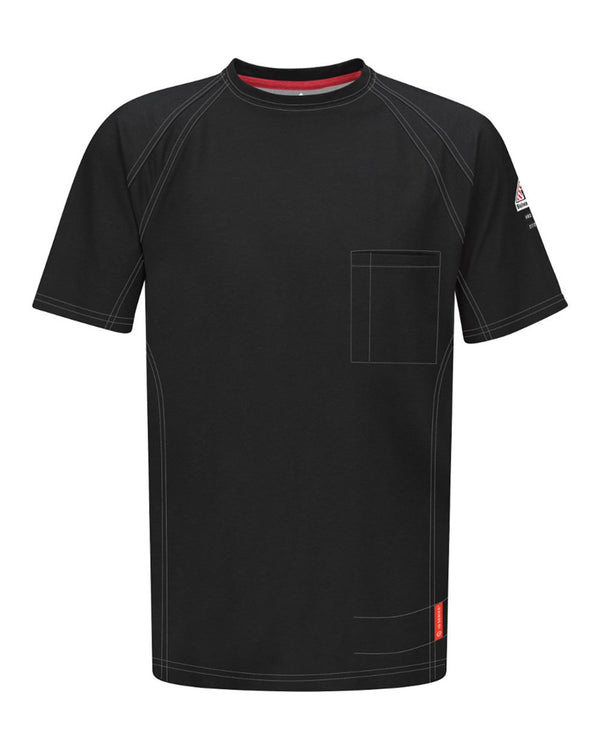 iQ Series Short sleeve Tee Long Sizes-Bulwark-Pacific Brandwear