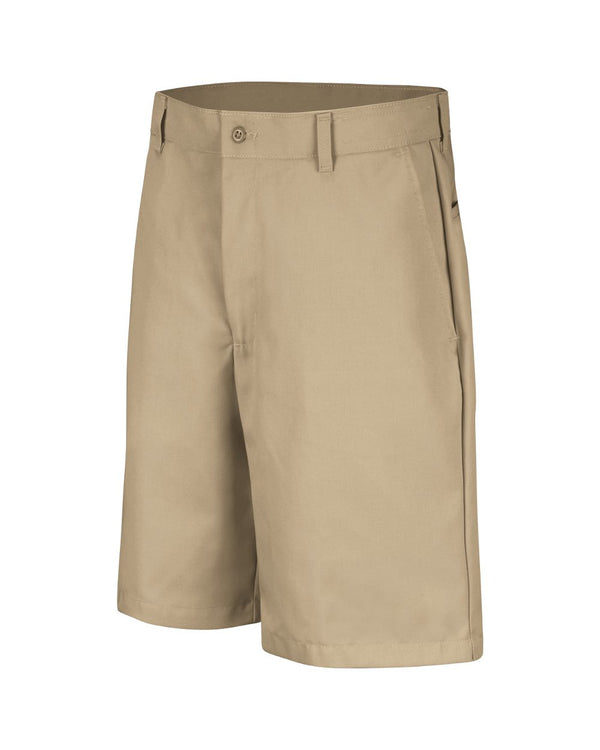 Cotton Casual Plain Front Shorts - Extended Sizes-Red Kap-Pacific Brandwear