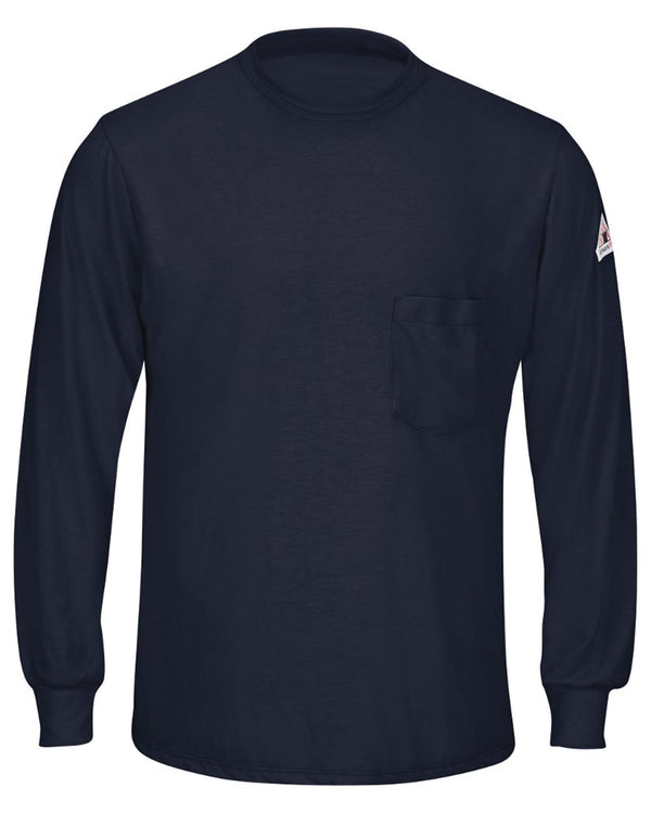 Long sleeve Lightweight T-Shirt - Long Sizes-Bulwark-Pacific Brandwear