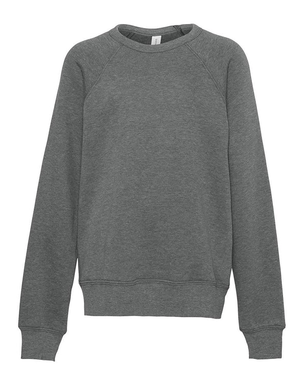 Youth Sponge Fleece Sweatshirt-BELLA + CANVAS-Pacific Brandwear