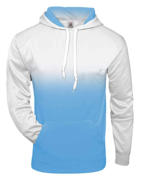 Youth Ombre Hooded Sweatshirt-Badger-Pacific Brandwear
