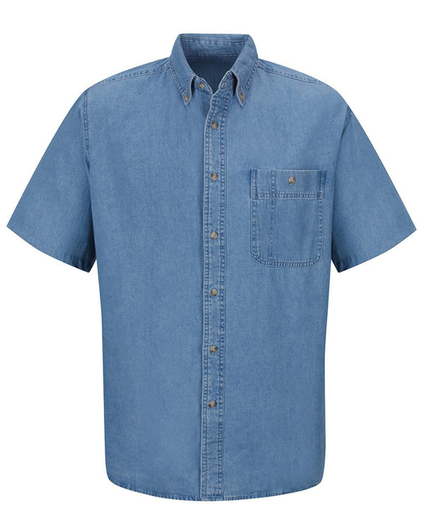 Short sleeve Denim Shirt-Wrangler-Pacific Brandwear