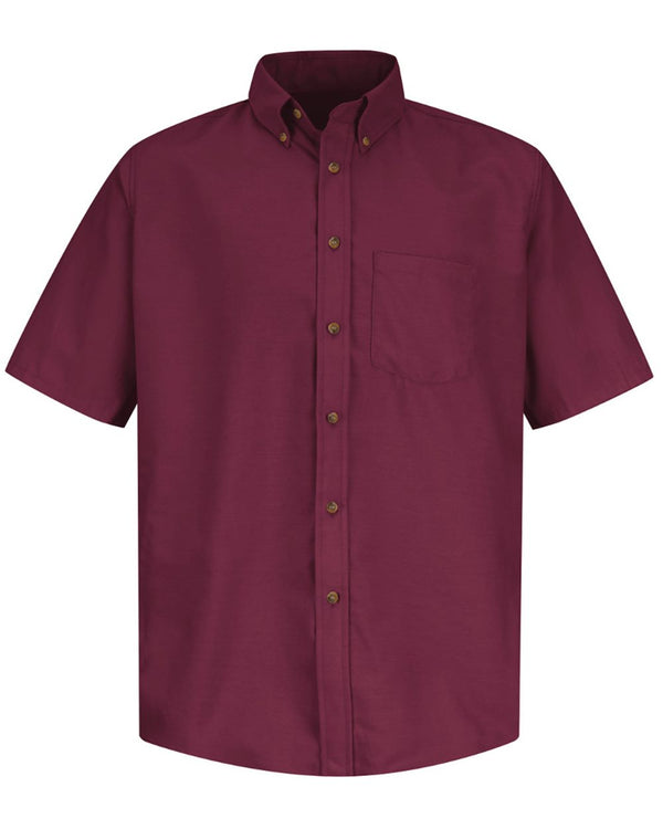 Poplin Short sleeve Dress Shirt - Long Sizes-Red Kap-Pacific Brandwear
