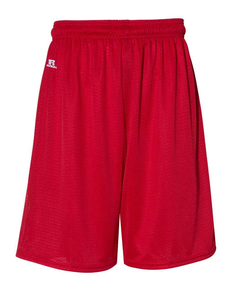 "9"" Dri-Power Tricot Mesh Shorts-Russell Athletic-Pacific Brandwear"