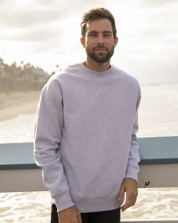Legend - Premium Heavyweight Cross-Grain Sweatshirt-Independent Trading Co.-Pacific Brandwear
