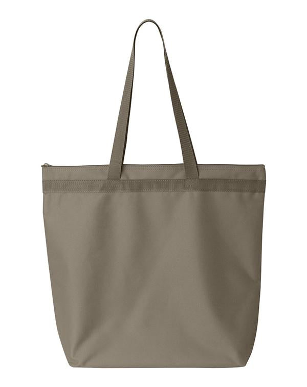 Liberty Bags Recycled Zipper Tote-Liberty Bags-Pacific Brandwear