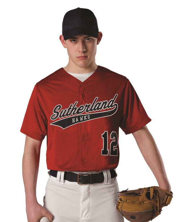 Dura Light Mesh Baseball Jersey-Alleson Athletic-Pacific Brandwear
