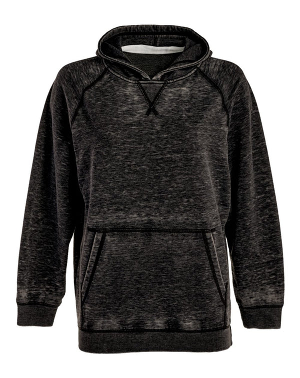 Youth Vintage Zen Fleece Hooded Sweatshirt-J. America-Pacific Brandwear