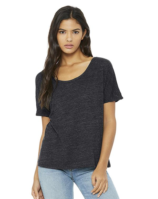 Bella Women's Slouchy Tee-BELLA CANVAS-Pacific Brandwear