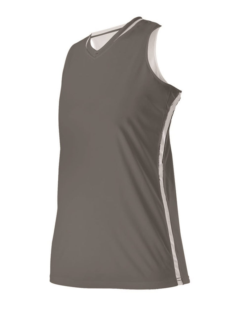 Women's Reversible Basketball Jersey-Alleson Athletic-Pacific Brandwear