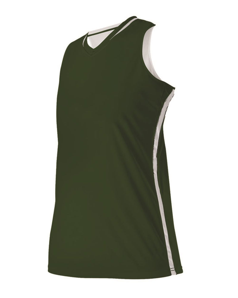 Girls' Reversible Basketball Jersey-Alleson Athletic-Pacific Brandwear