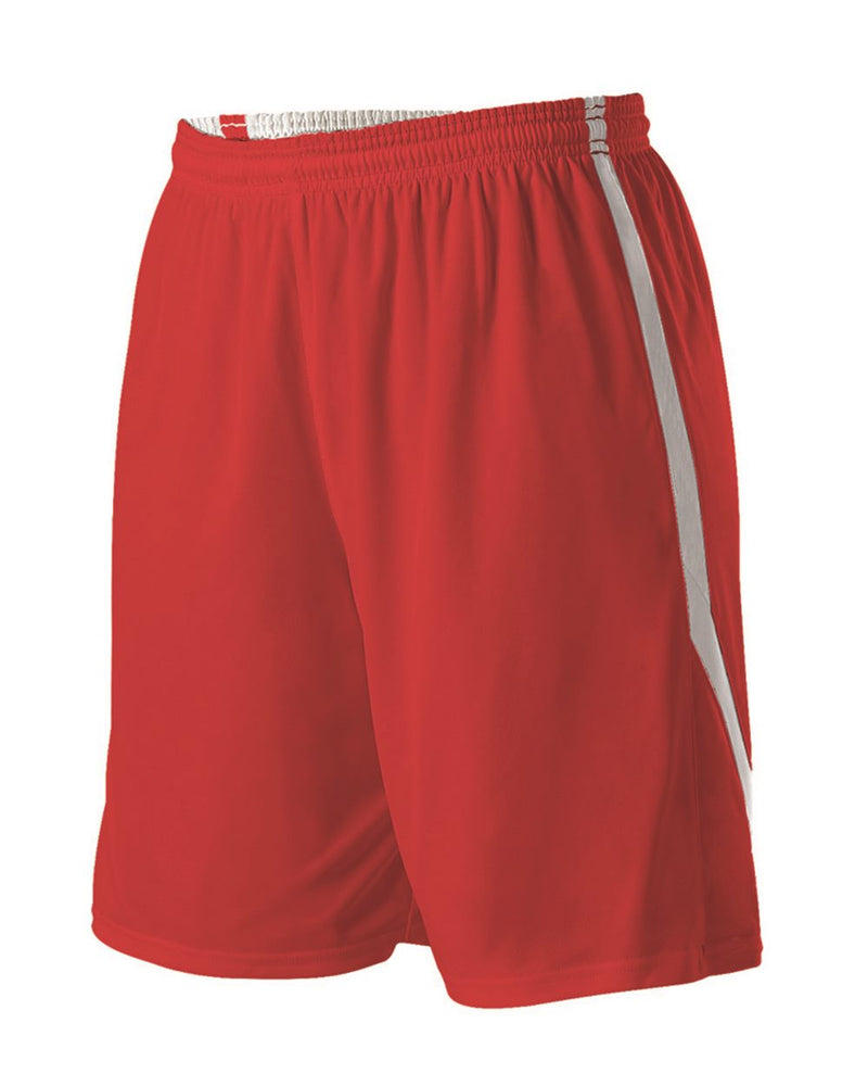 Girls' Reversible Basketball Shorts-Alleson Athletic-Pacific Brandwear