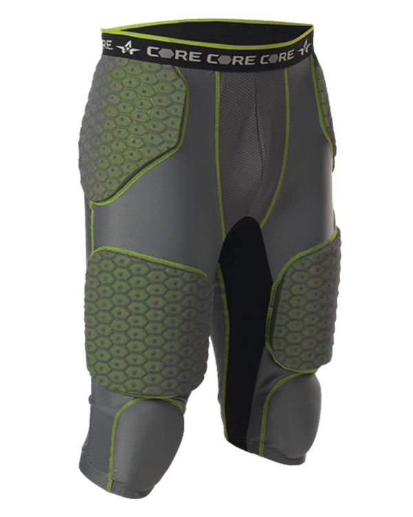 Integrated 7 Padded Football Girdle-Alleson Athletic-Pacific Brandwear