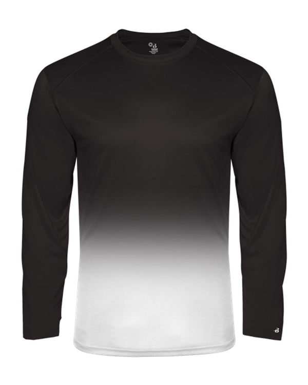Ombre Long sleeve T-Shirt-Badger-Pacific Brandwear