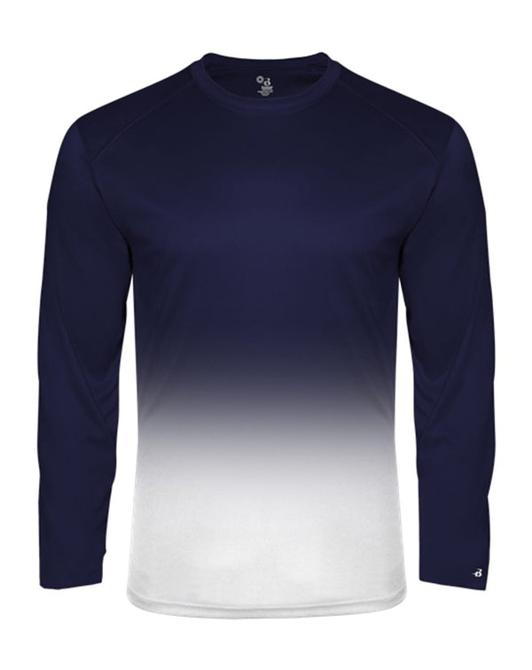 Youth Ombre Long sleeve T-Shirt-Badger-Pacific Brandwear