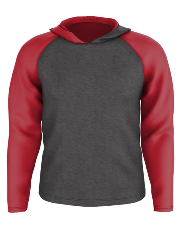 Youth Gameday Hooded Pullover-Alleson Athletic-Pacific Brandwear