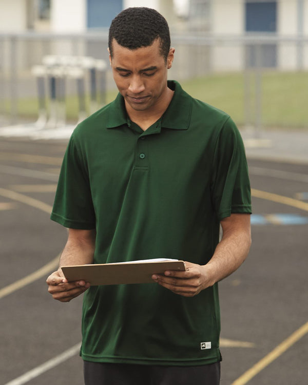 Essential Short sleeve Polo-Russell Athletic-Pacific Brandwear
