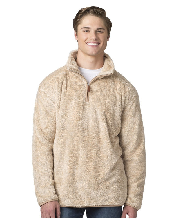 Fuzzy Fleece Quarter Zip Pullover-Boxercraft-Pacific Brandwear