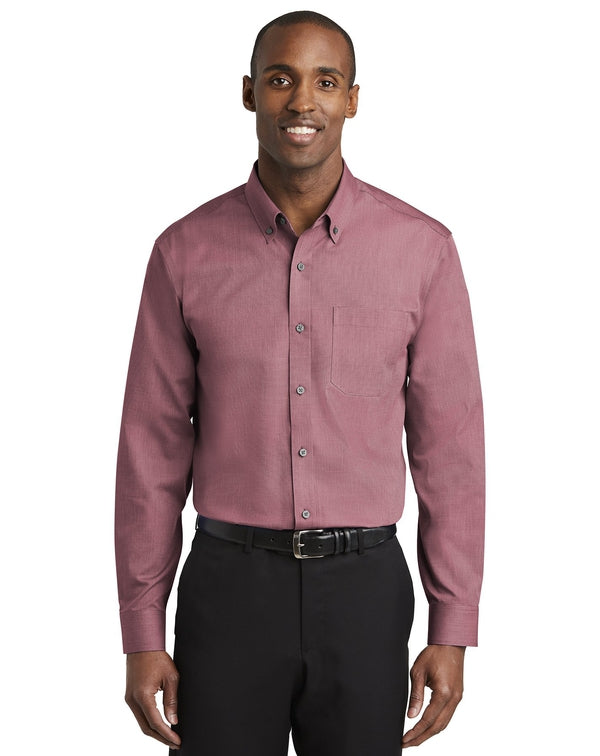 Red House® Nailhead Non-Iron Shirt-Red House-Pacific Brandwear