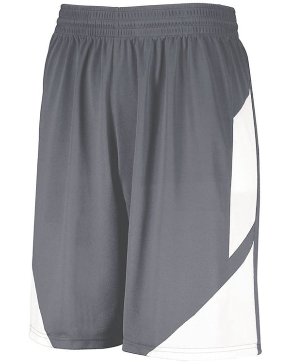 Step-Back Basketball Shorts-Augusta Sportswear-Pacific Brandwear