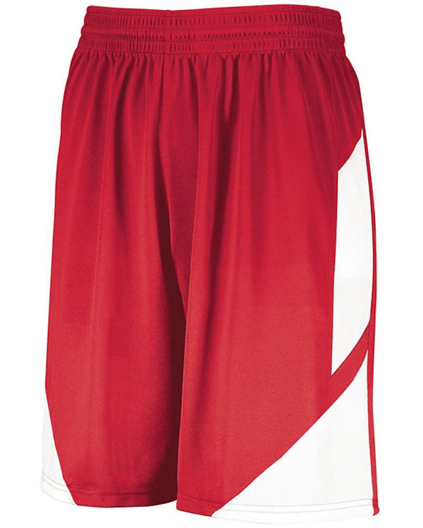 Youth Step-Back Basketball Shorts-Augusta Sportswear-Pacific Brandwear