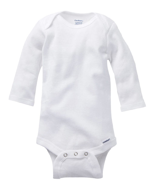 Gerber Long sleeve Bodysuit-Boxercraft-Pacific Brandwear
