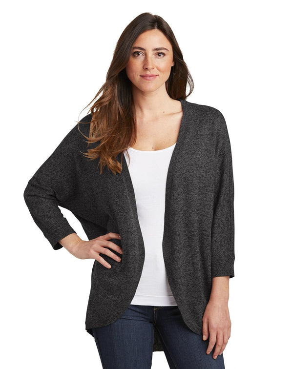 Port Authority® Ladies Marled Cocoon Sweater-Port Authority-Pacific Brandwear