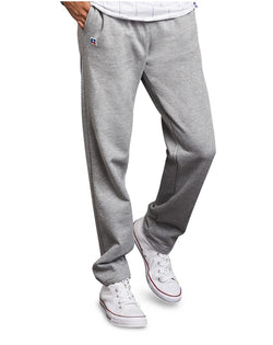 Cotton Rich Open Bottom Sweatpants-Russell Athletic-Pacific Brandwear