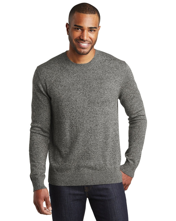 Port Authority® Marled Crew Sweater-Port Authority-Pacific Brandwear