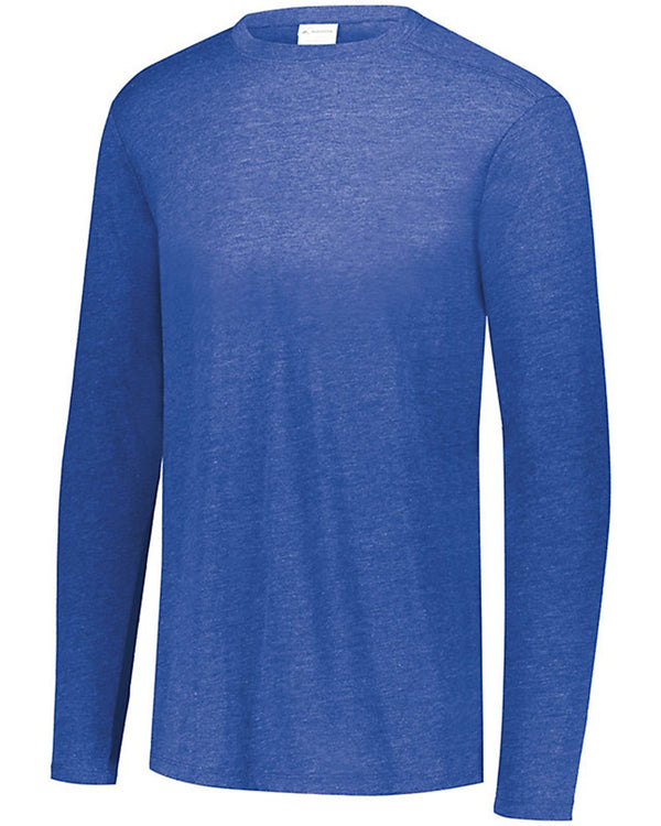 Youth Triblend Long sleeve Crew-Augusta Sportswear-Pacific Brandwear