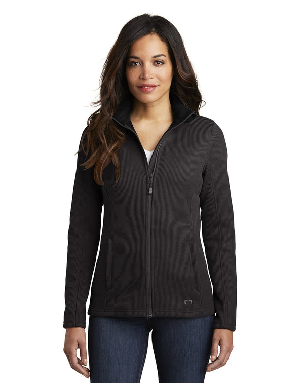 OGIO® Ladies Grit Fleece Jacket-OGIO-Pacific Brandwear