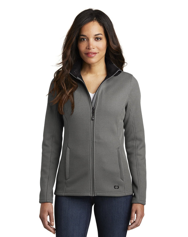 OGIO ® Ladies Grit Fleece Jacket-OGIO-Pacific Brandwear