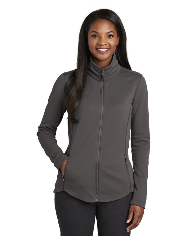 Port Authority® Ladies Collective Smooth Fleece Jacket-Port Authority-Pacific Brandwear
