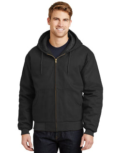 CornerStone® - Duck Cloth Hooded Work Jacket-CornerStone-Pacific Brandwear