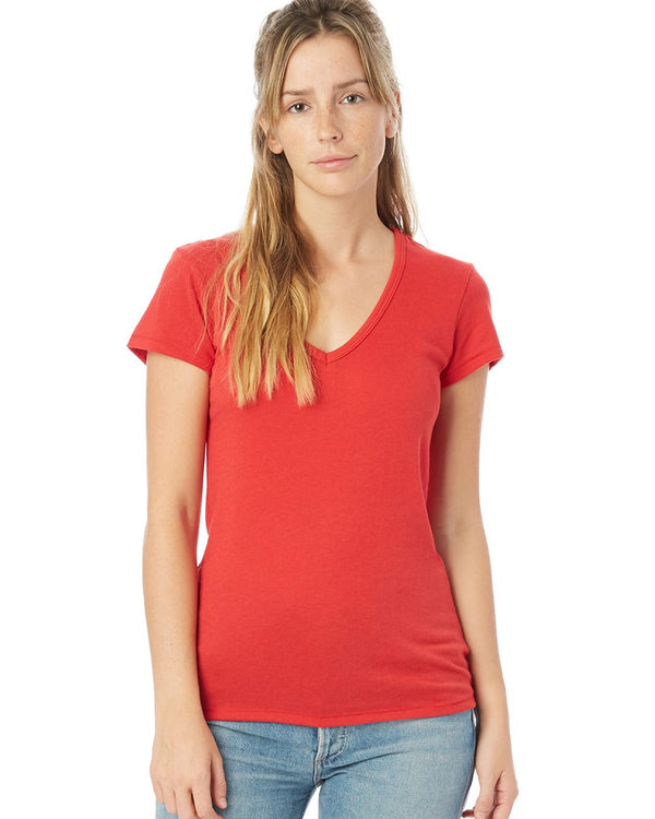 Women's Vintage Jersey Keepsake Short sleeve V-Neck Tee-Alternative Apparel-Pacific Brandwear