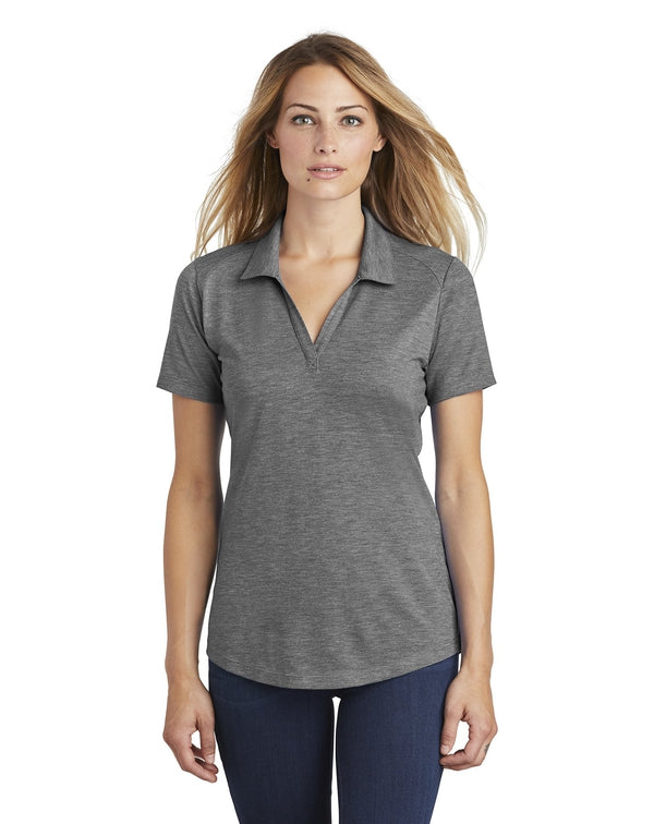 Sport-Tek ® Ladies PosiCharge ® Tri-Blend Wicking Polo-Sport-Tek-Pacific Brandwear