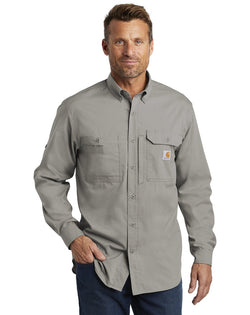 Carhartt Force® Ridgefield Solid Long Sleeve Shirt-Carhartt-Pacific Brandwear