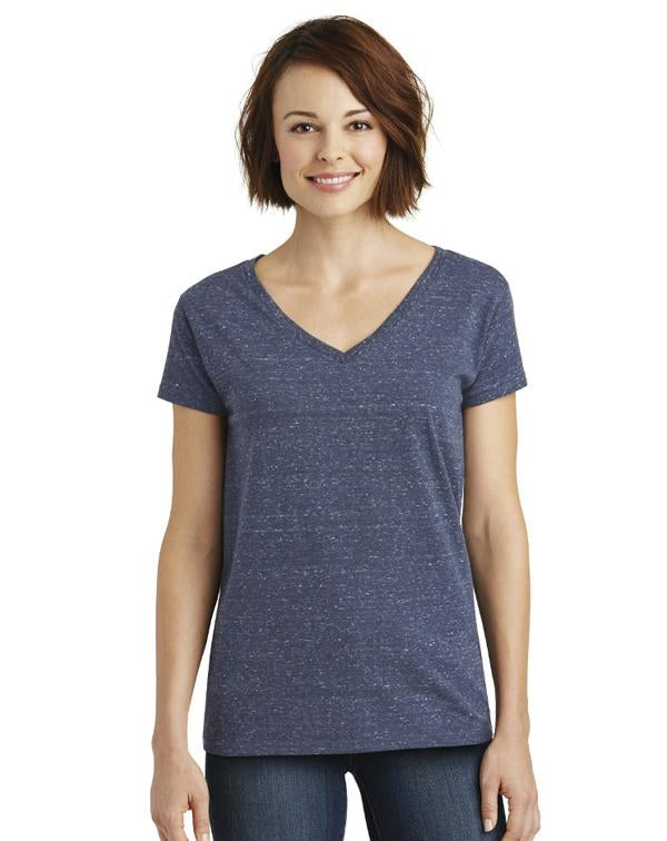 District Women's Cosmic V-Neck Tee-District-Pacific Brandwear
